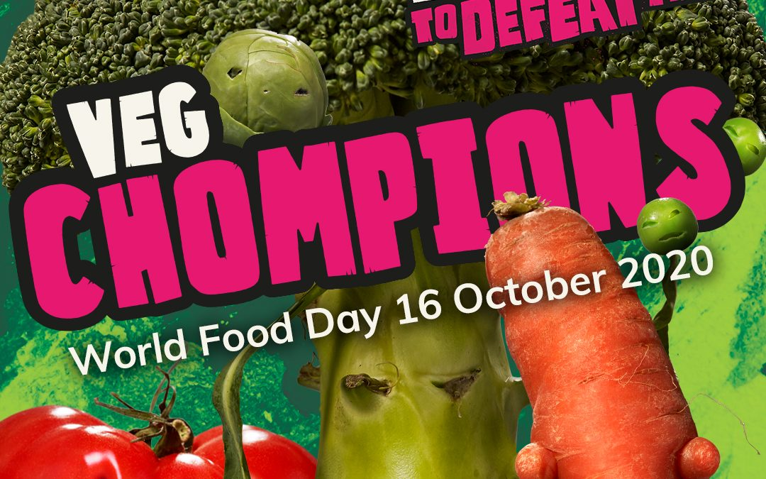 Take on the 'Veg Chomp-ionship' on World Food Day