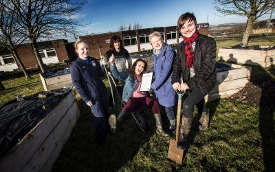 Blackhill volunteers presented with environmental award