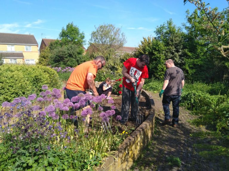 Children and families get their hands dirty with Growing Durham