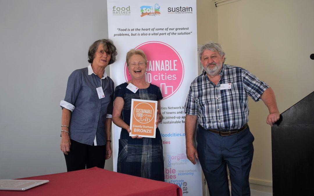 Food Durham wins prestigious national sustainability award