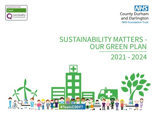 County Durham and Darlington NHS Foundation Trust publish ambitious 'Green Plan'