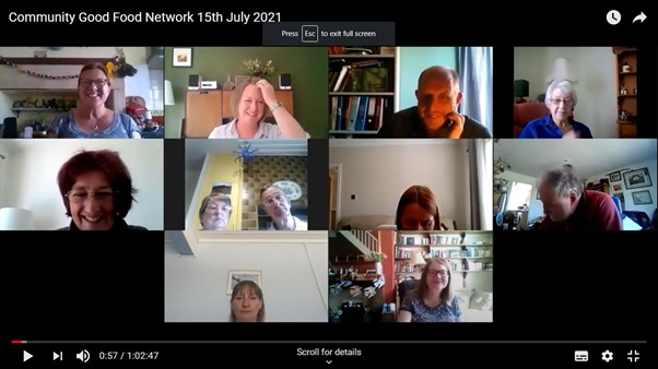 Community Good Food Network 14th July 2021